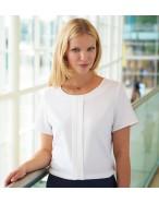 Felina S/S crepe de chine blouse