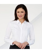 Palena L/S Blouse Cotton Rich Easy-to-Iron