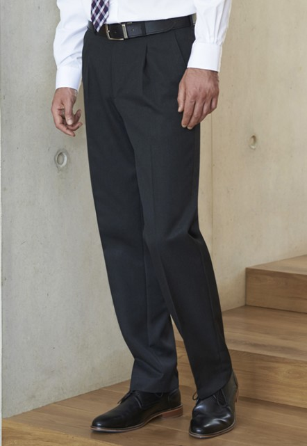 Delta Single Pleat Trouser