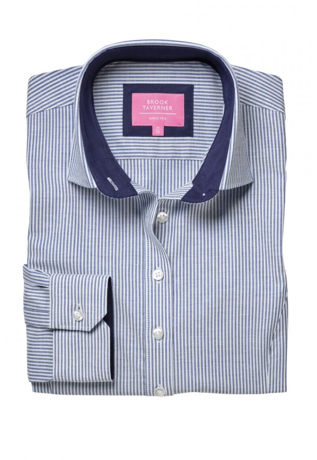 Mirabel Stretch Oxford Shirt