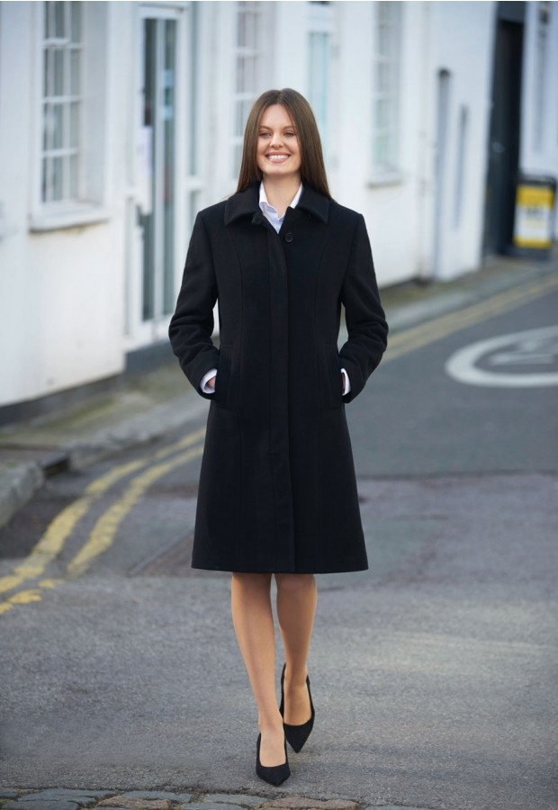 Ladies Burlington Overcoat