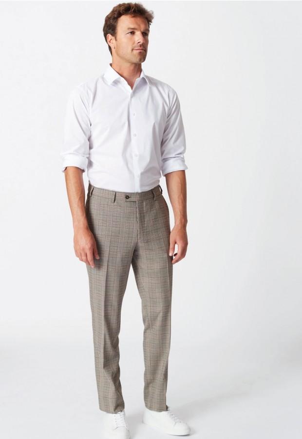 Fabian Check Trouser