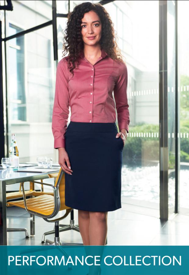 Merchant A-line skirt