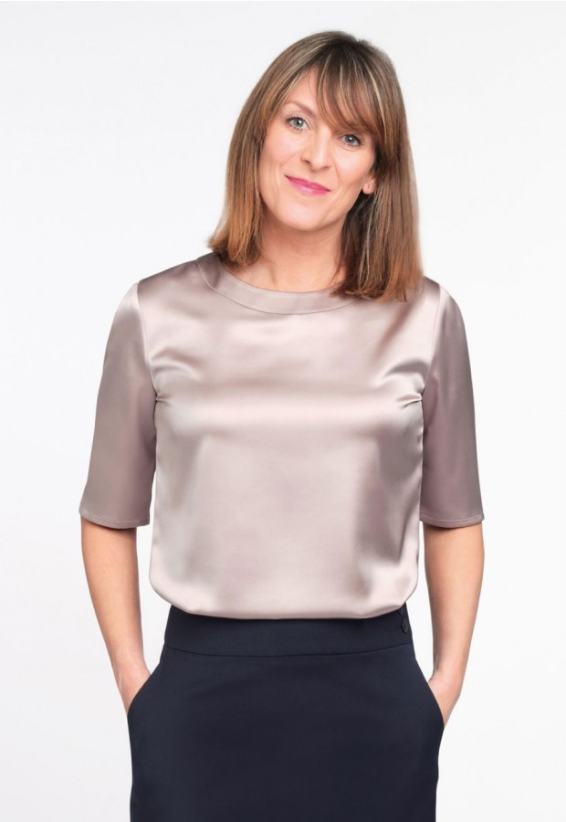 Ravenna Satin Blouse