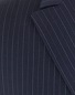 Navy Blue Pinstripe